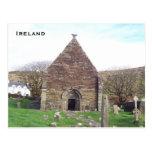 Kilmalkedar Church, Dingle, Kerry, Ireland Post Cards