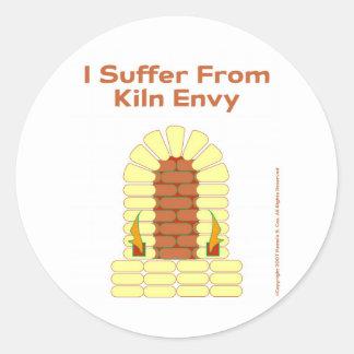 Kiln Envy Classic Round Sticker