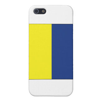 Kilo (K) Signal Flag Case For iPhone SE/5/5s