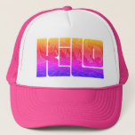 "Kilo Rainbow Trucker Hat<br><div class=""desc"">Like a unicorn...  Just mo&#39; bettah!</div>"