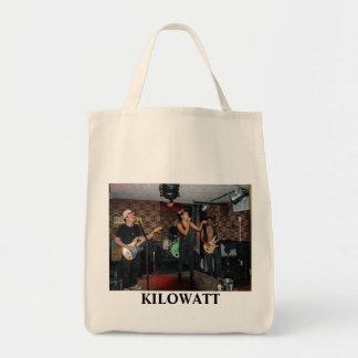 KILOWATT GROCERY TOTE BAG