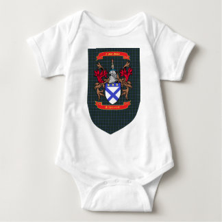 Kilpatrick Crest on Douglas Shield Baby Bodysuit