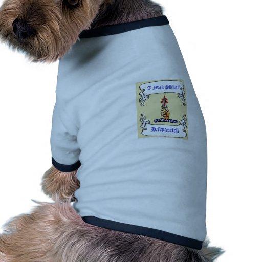 Kilpatrick Dagger I Mak Sikkar Doggie Tee Shirt