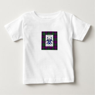 Kilpatrick on Colquhoun Purple tartan Baby T-Shirt