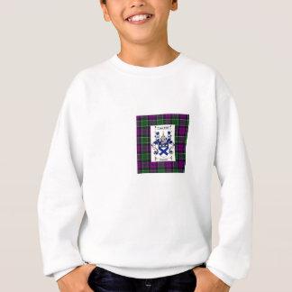 Kilpatrick on Colquhoun Purple tartan Sweatshirt