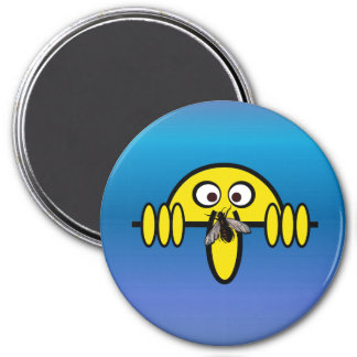 Kilroy Fly on Nose Magnet