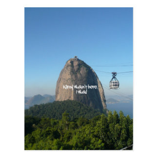 Kilroy in Rio Postcard