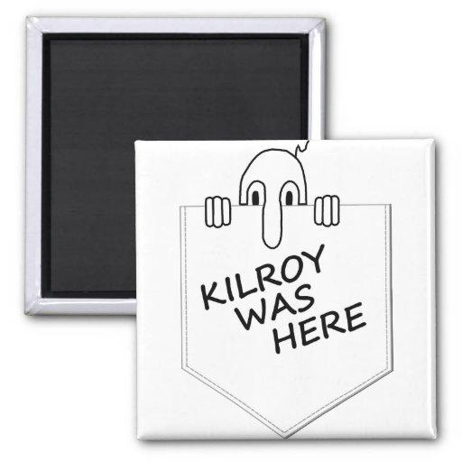 Kilroy Refrigerator Magnets
