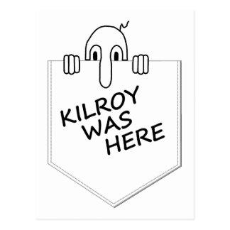 Kilroy Postcard