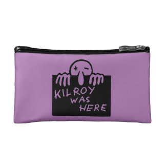 Kilroy Was Here Cosmetic Bag