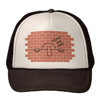 Kilroy Was Here Hat
