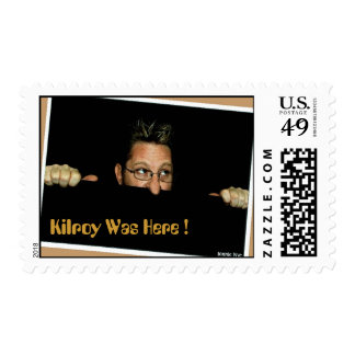 Kilroy Was Here ! Postage