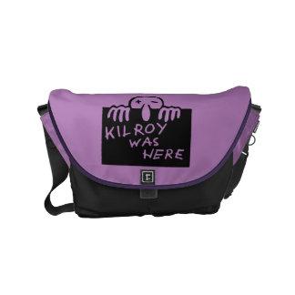 Kilroy Was Here Small Messenger Bag