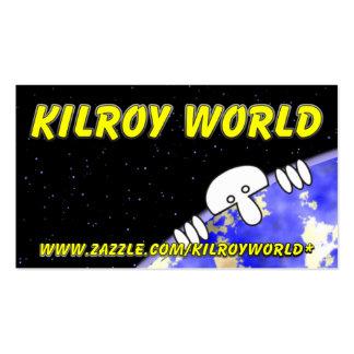 Kilroy World Business Card