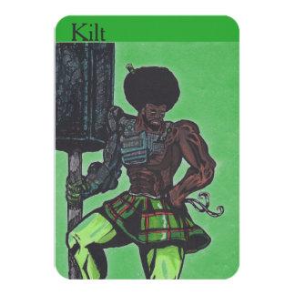 Kilt Collector's Card