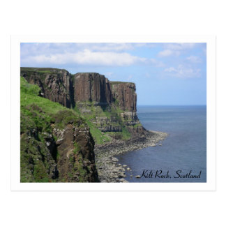 Kilt Rock, Scotland Postcard