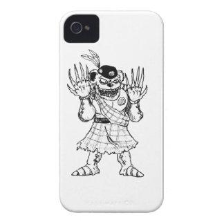 Kilted Bearman iPhone 4 Case-Mate Case