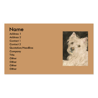 Kiltie the West Highland Terrier Business Card