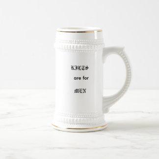 Kilts are for Men Mugs