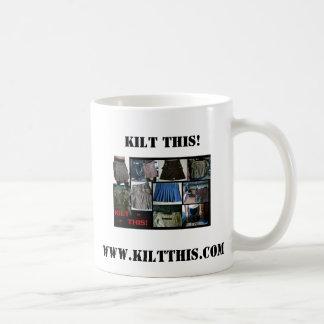 Kilts Kilt This Coffee Cup