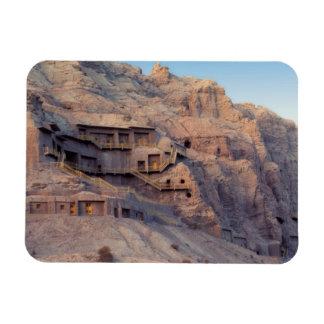 Kilzil Thousand Buddha Caves, Kuche, near Rectangular Photo Magnet
