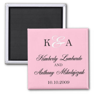 kim and anthony - Customized Magnet