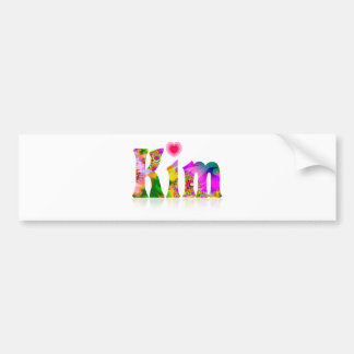 Kim Bumper Sticker