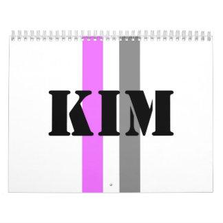 Kim Calendario De Pared