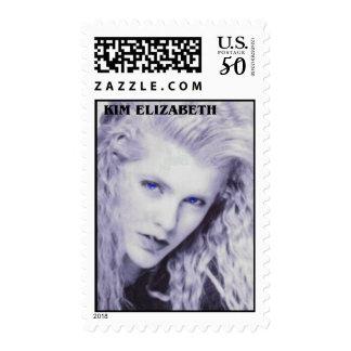 Kim Elizabeth US Postage Stamps, Design 1