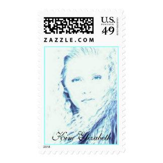 Kim Elizabeth US Postage Stamps, Design 5