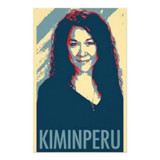 Kim en el logotipo de Perú Papelería De Diseño