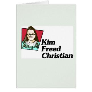Kim Freed Christian Greeting Card