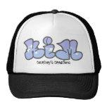 kim graffiti, Courtney's Creations Mesh Hat