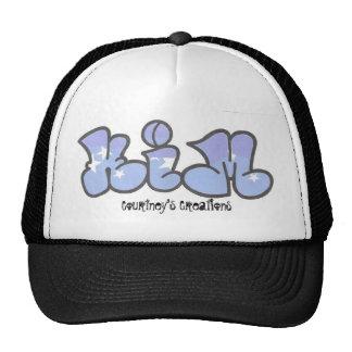kim graffiti, Courtney's Creations Trucker Hat
