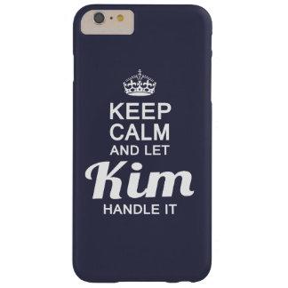 Kim handle it! barely there iPhone 6 plus case