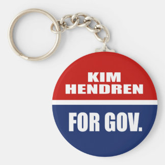 KIM HENDREN FOR SENATE KEY CHAINS