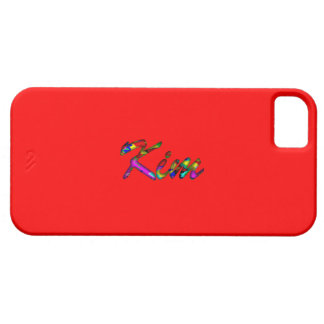 Kim iphone 5 red case