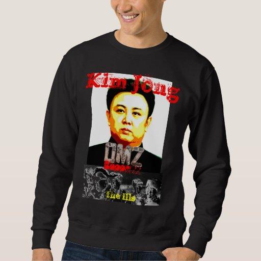 Kim Jong DMZ Bopperzz la camiseta de las Sudadera Con Capucha