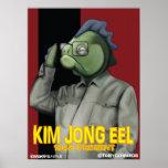 Kim Jong Eel Print
