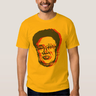 Kim Jong Il 3D Playeras