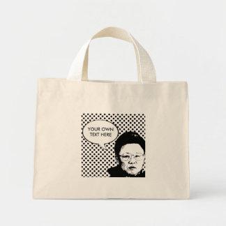 Kim Jong Il Bolsa Tela Pequeña