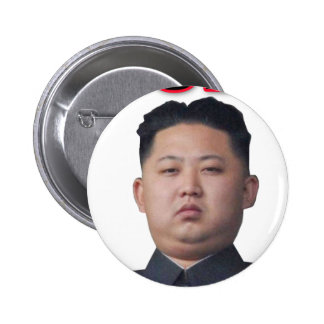 kim jong il bow 2 inch round button