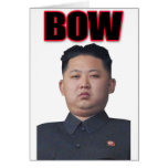 kim jong il bow cards