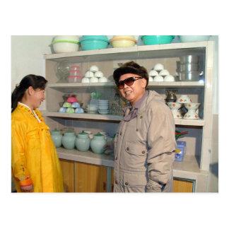 Kim Jong-il, Corea del Norte Postal