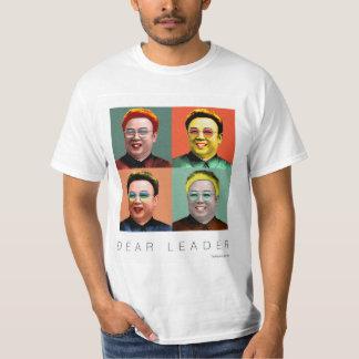 Kim Jong Il: Dear Leader Tshirts