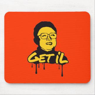Kim Jong Il - Get s Il Mousepads