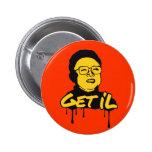 Kim Jong Il - Get's Il Anstecknadelbutton