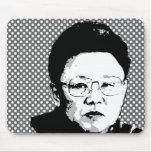 Kim Jong Il Mouse Pad