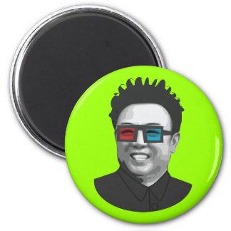 Kim Jong-Il - North Korea Magnet