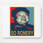 Kim Jong-Il So Ronery Mousepad